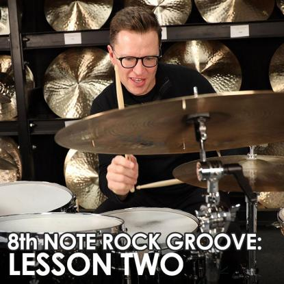 8th Note Rock Series - Lesson 2