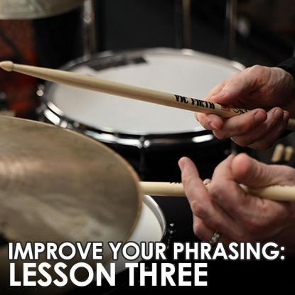 Phrasing Series - Lesson 3