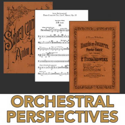Comparing Cymbal Selection in the Orchestral Literature