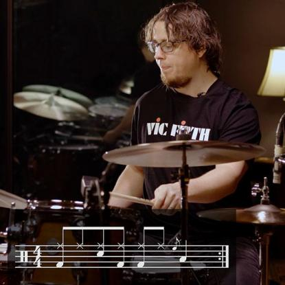 Lesson Fifteen: Tom Grooves and Fills & 16th Notes