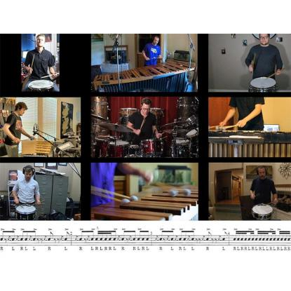 Cadence #9 with Stanton Moore and the LSU Percussion Ensemble