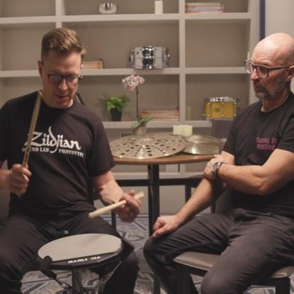 Stanton Moore Zildjian Live Interview with Mike Dolbear