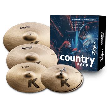 K Zildjian Country Cymbal Pack