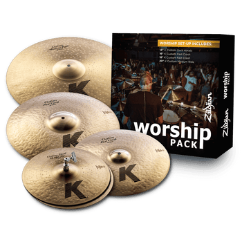 K Custom Worship Cymbal Pack