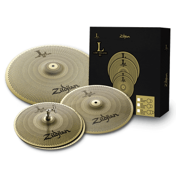 L80 Low Volume Cymbal Pack – 13/14/18""