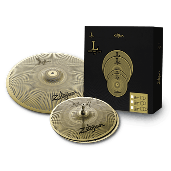 L80 Low Volume Cymbal Pack – 13/18""