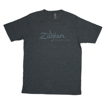 ZILDJIAN HEATHERED BLUE LOGO TEE