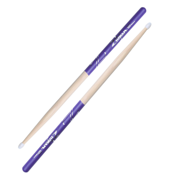 5B Nylon Purple DIP Drumsticks