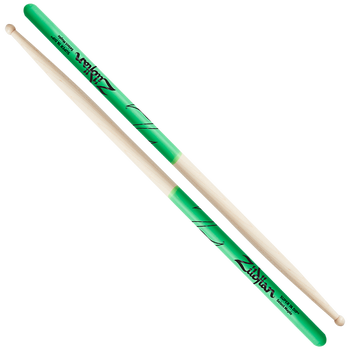 Super 7A Maple Green DIP Drumsticks